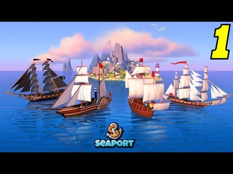 Seaport - Explore, Collect & Trade - First Look - Gameplay #1