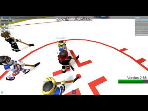 ROBLOX Hockey (NHL) - Los Angeles Kings Vs. New York Rangers Period 1