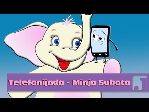 Telefonijada - Minja Subota | Dečije pesme | Pesme za decu | Jaccoled C