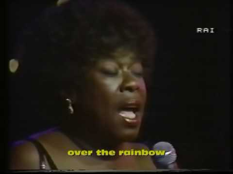 Sarah Vaughan in memoriam part 6 ( over the rainbow )