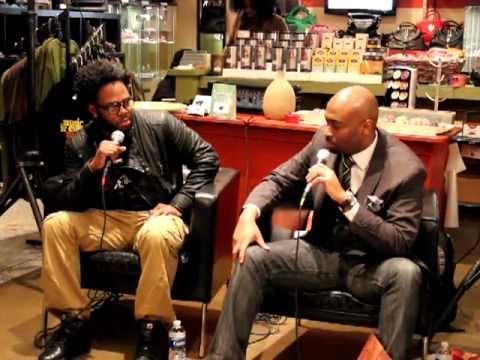 Dwele and JB interview at Mood Music