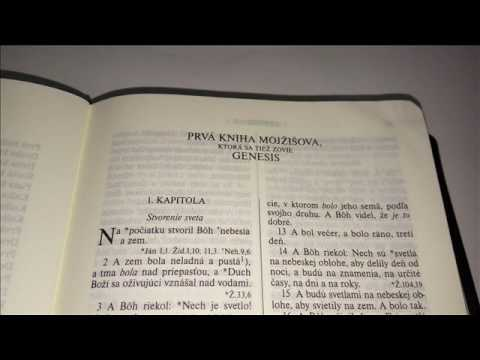 Svätá Biblia - Genesis - 1. Mojžišová kniha