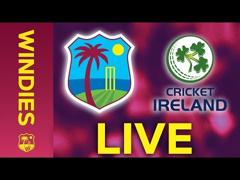 🔴LIVE West Indies Vs Ireland | 1st Colonial Medical Insurance ODI 2020