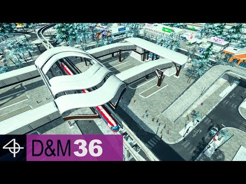 Full Coverage Monorail System | Unmodded Cities: Skylines – Design and Manage, Part 36