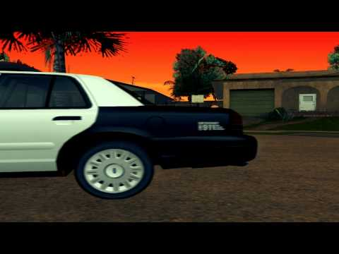 GTA SanAndreas LSPD Ford CrownVic
