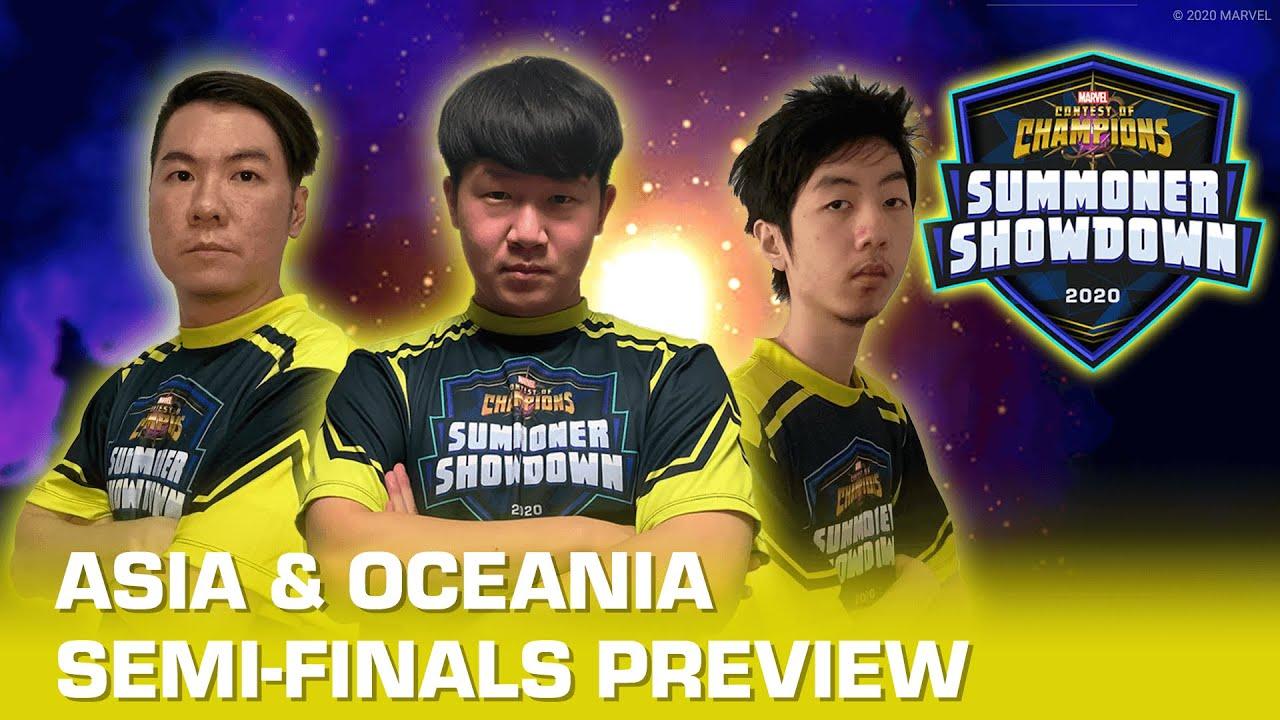 Summoner Showdown 2020: ASIA & OCEANIA Semi-Finalists Do Battle!