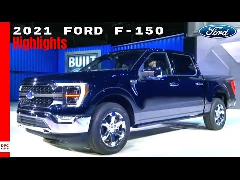 2021 Ford F150 Truck Key Highlights