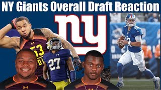 NY Giants Complete Draft Reaction & Grades