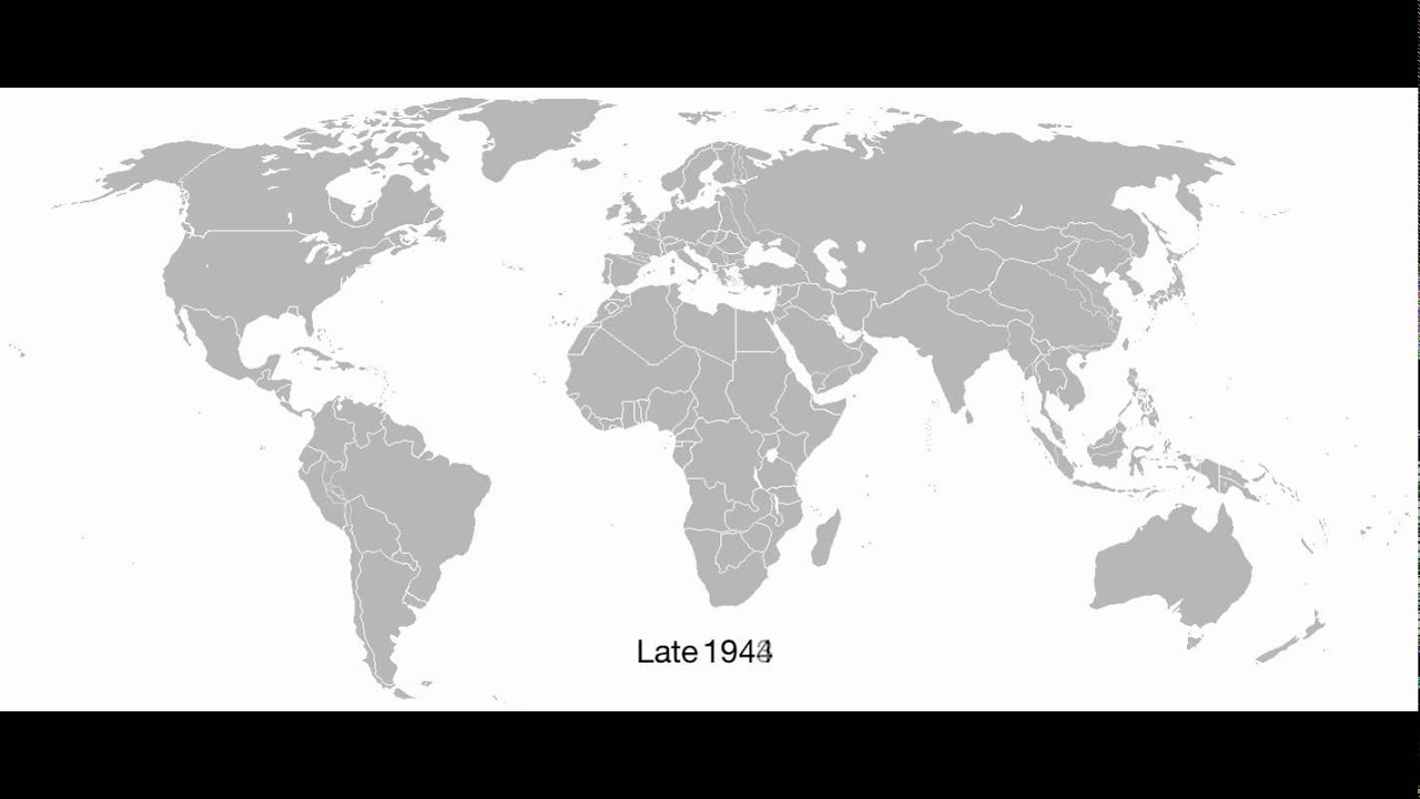 Blank World Map 1939.An Alternate World Blank Map From 1939 46 Youtube