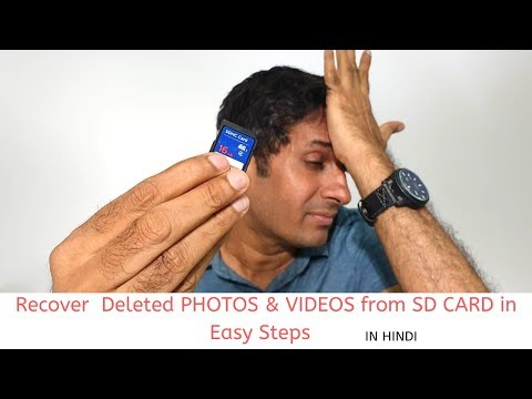 How To RECOVER DELETED PHOTOS,VIDEOS And DATA From SD CARD ?