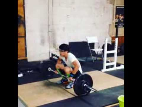 Olympic Weightlifting - Clean & Jerk practice October 22, 2013