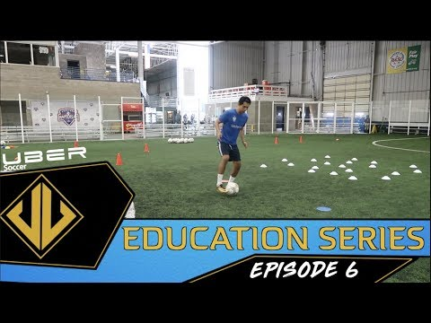 Uber Soccer Education Series - Ep. 6 - Training With Cones and Flat Markers