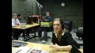 Claudia Lomeña Alma de Rezabaile, RADIO RIVADAVIA