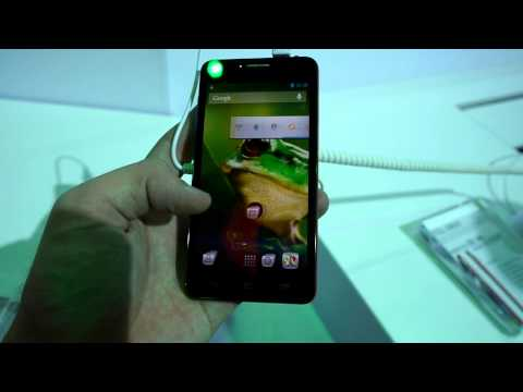Alcatel One Touch Idol Ultra Smartphone Hands On at the CES 2013