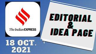 18th October 2021 | Gargi Classes Indian Express Editorial Analysis/Discussion
