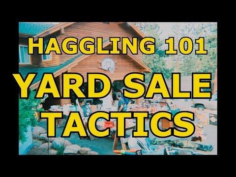 Haggling 101 Yard Sale Tactics Strategies Deals Flea Market  Hull Budget Pickers Picking  Buying