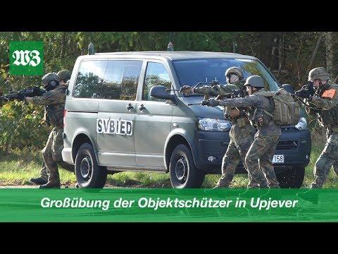 Großübung Der Objektschützer In Upjever | Wilhelmshavener Zeitung