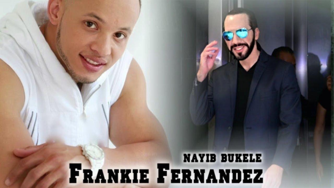 Cantautor de la canción al Presidente Nayib Bukele - Frankie Fernandez ( Dominicano )
