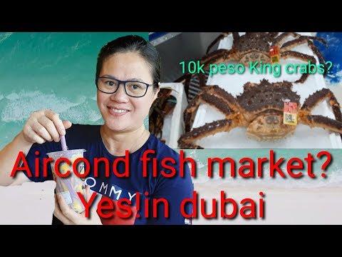 King Crabs 10k Peso???exploring Dubai Fish Market.