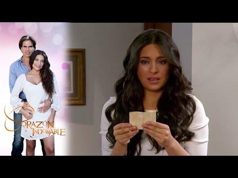 ¡Maricruz descubre que Alejandro es su papá! | Corazón indomable - Televisa