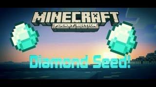 Diamond Seed - Minecraft PE Seeds Sunday!