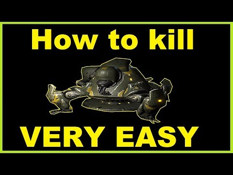 How to kill tusk thumper very easy in plains of eidolon Warframe