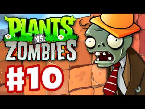 Plants vs. Zombies - Gameplay Walkthrough Part 10 - World 5 (HD)