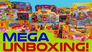 SUPER ZINGS seria 3 ⚡ FULL UNBOXING ⚡ Toys Land
