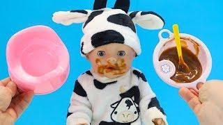 НАМ ПОМОЖЕТ ЧЕРНОСЛИВ Куклы Пупсики Кормим #БебиБон Мультик для детей Играем Как Мама