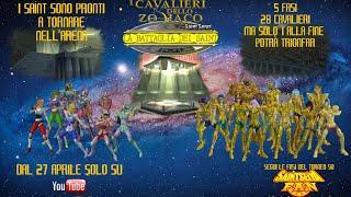 I Cavalieri dello Zodiaco - La Battaglia dei Saint [Trailer ITA] [Sub ENG]