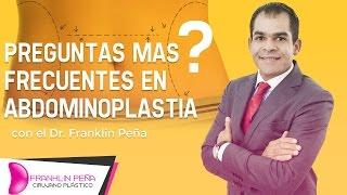 Preguntas más frecuentes en Abdominoplastia