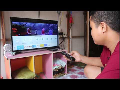 Unboxing Smart Tv Samsung N4300 Class4