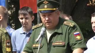Курсанты военной кафедры приняли присягу  на верность Родине