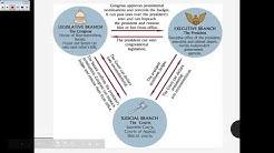 Checks and Balances   US & VA Government