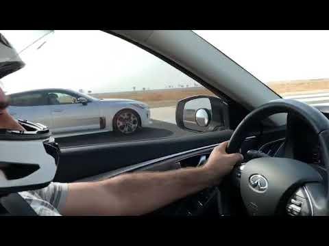 JB4 Kia Stinger GT vs JB4 Infiniti Q50 Silver Sport