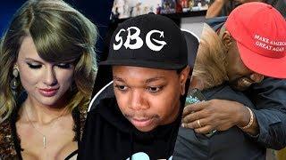 Kanye vs Taylor Swift (GONE POLITICAL)