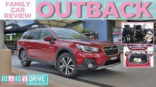 Family car review: Subaru Outback 2018 2.5i Premium