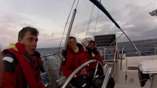 Atlantic cruising- Broken rudder