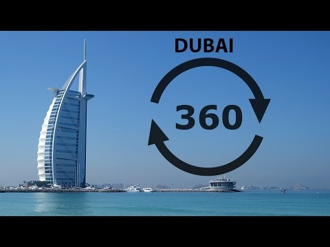 Dubai in 360 - Samsung Gear 360 4K