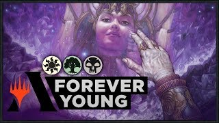 Forever Young One Turn Kill | Throne of Eldraine Standard Deck (MTG Arena)