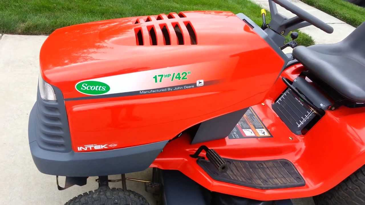 scotts s1742 lawn tractor [ 1280 x 720 Pixel ]