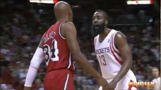 "James Harden Trash Talk to Ray Allen ""You"