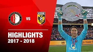 Samenvatting | Feyenoord - Vitesse 2017-2018 - Johan Cruijff Schaal