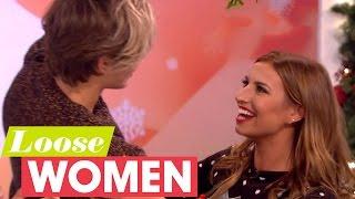 George Shelley Leaves Ferne McCann Shocked After Sneaking In With Mistletoe! | Loose Women