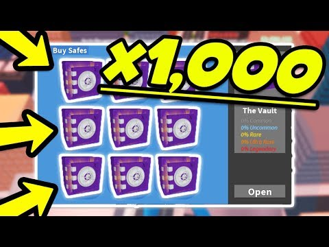 OPENING 1000+ ROBLOX JAILBREAK VAULT SAFES & TIER SAFES!   Q&A ASK ME  ANYTHING!