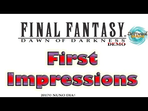 Final Fantasy Dawn of Darkness - First Impressions - Fan Game - RPG Maker MV