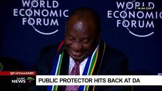 Public protector hits back at DA thumbnail