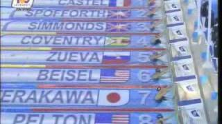 Kirsty Coventry ZIM 200m backstroke new world record FINA world championships 2009