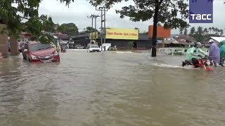 Сильное наводнение на юге Таиланда  затоплены более 4 тыс  населенных пунктов