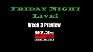 Friday Night Live Week Three Preview